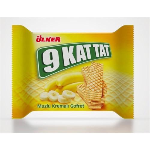 Ülker 9 Kat Tat Muzlu Gofret 24x39 g