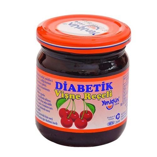 Yenigün Vişne Reçeli Diabetik, 250 Gr