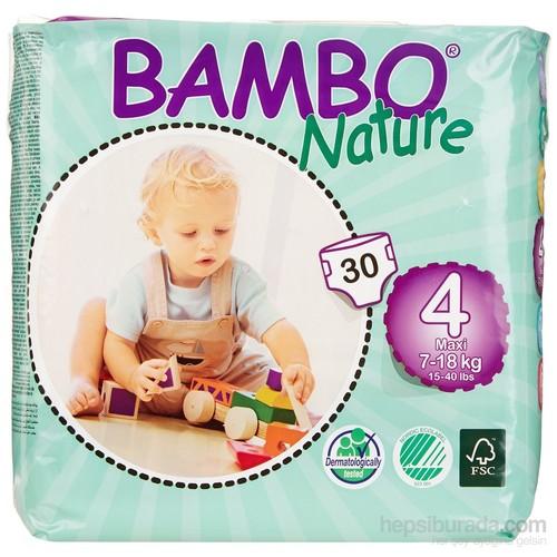 Bambo Nature Bebek Bezi 4 Beden 30 Adet