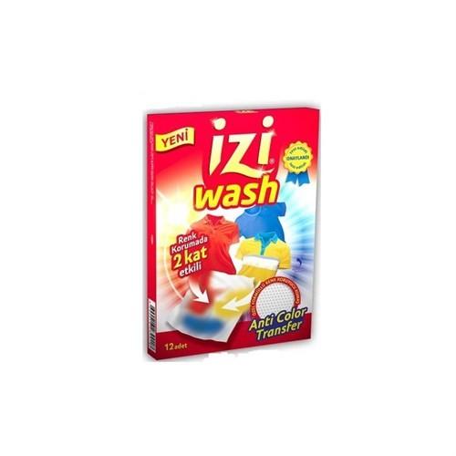 İziwash Renk Koruyucu Mendil 12'Li 6 Paket