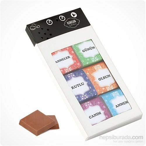 ChocChic Konuşan Çikolata-Anneler Günü Çikolata