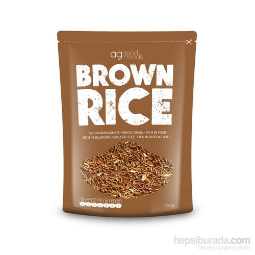 Ag Good Foods Pilavlık Kahverengi Pirinç - 500 Gr