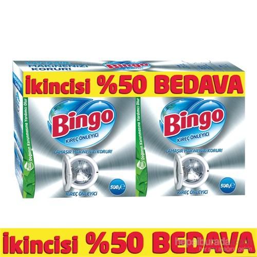 Bingo Kireç Önleyici İkiz Kutu 500 gr+500 gr