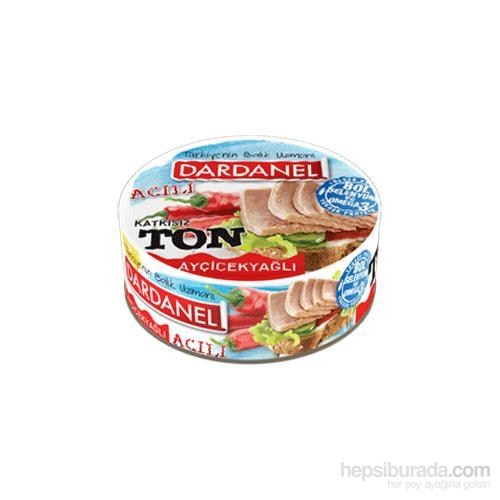 Dardanel Ton Balığı Acılı 160 Gr