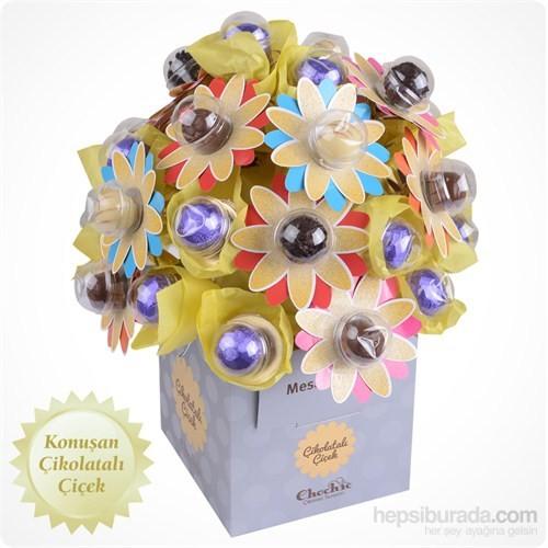 ChocChic Gökkuşağı Çikolatalı Çiçek
