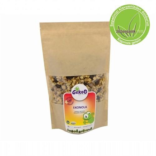 Gekoo Organik Ekonola Cevizli Meyveli Granola 375 Gr
