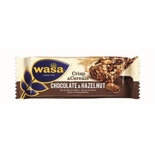 Wasa Tahıllı Çıtır Bar Fındıklı&Çikolatalı 35 gr