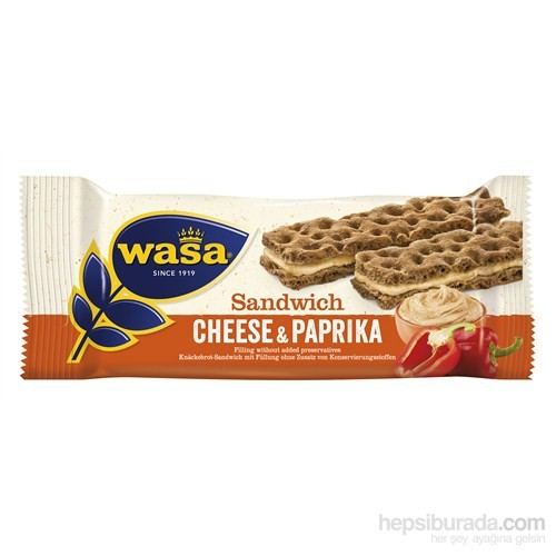 Wasa Cream Cheese Paprika / Kırmızı Biberli&Krem Peynirli Sandviç