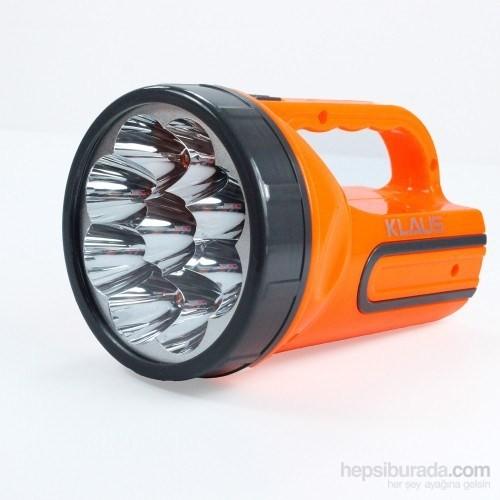 Hepsi Dahice 9 Ledli Şarjlı El Feneri Işıldak