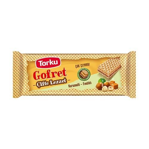 Torku Karamel Fındıklı Gofret 160 Gr