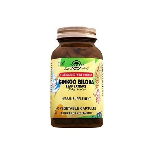 Solgar Ginko Biloba Leaf Extract Ginko Biloba Yaprak Ekstresi