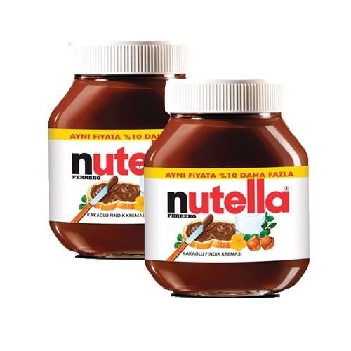 Nutella 825 Gr Kakaolu Fındık Kreması İkili Paket