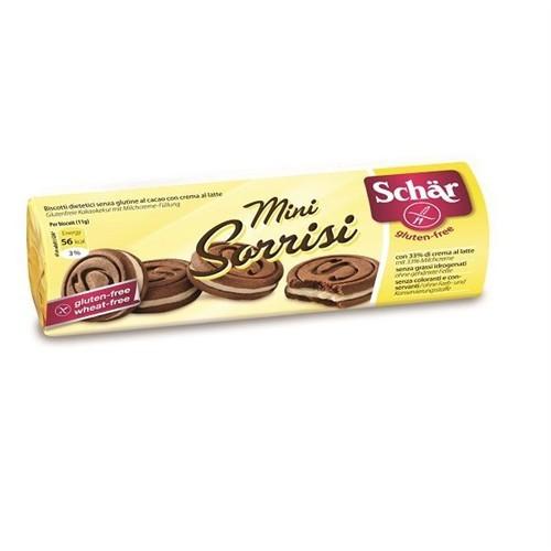 Schar Minni Sorrisini - Glutensiz Kaymaklı Çikolatalı Bisküvi