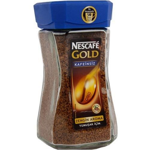 Nescafe Gold Decaf Kavanoz Ergos 100 gr