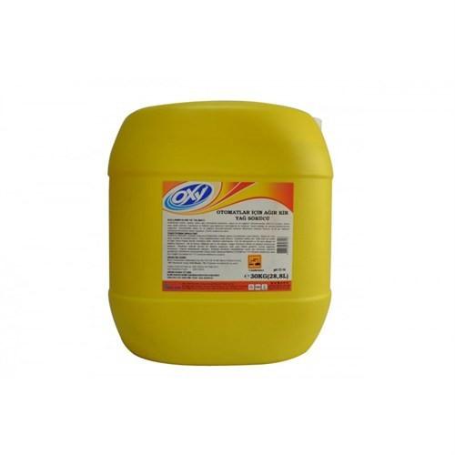 Bayerkimya Oxy Otomatlar İçin Ağır Kir Yağ Sökücü 30 Kg