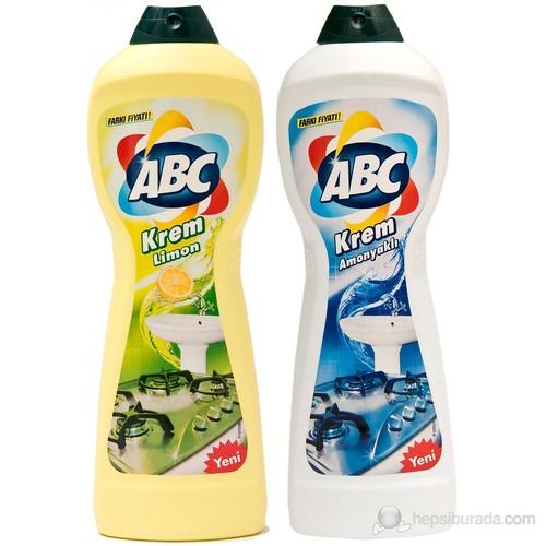 ABC Sıvı Krem Limon 750 Ml + Amonyak 750 Ml
