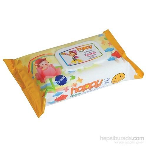 Happy Sweet Islak Temizleme Mendili (80'Li Paket)