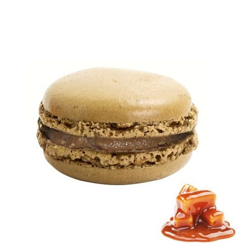 Nefis Gurme Karamelli Deluxe Parisian Macaron 6'Lı
