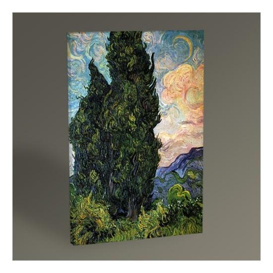 Tablo 360 Vincent Van Gogh-Cypresses Tablo 30 x 20