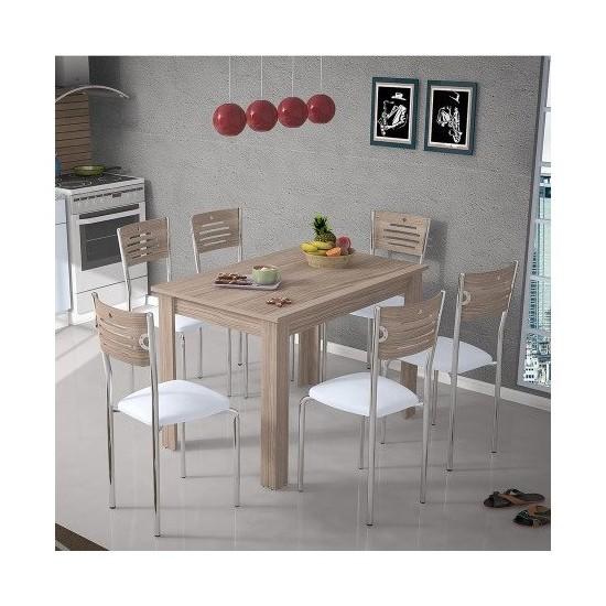 Evmanya Haus 6 Sandalyeli Cordoba Masa Takımı