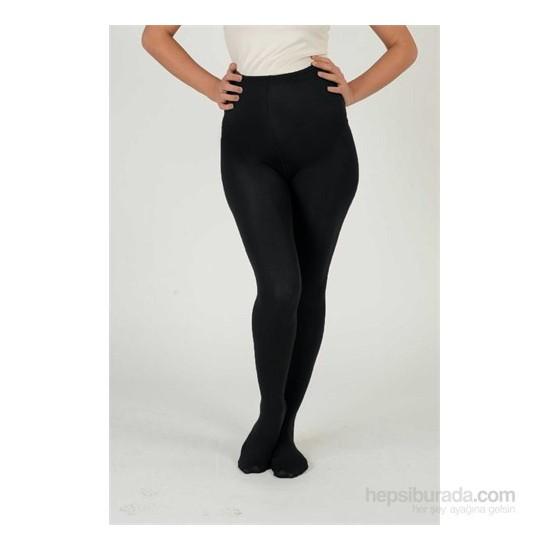 Elija Hamile Coton Külotlu Çorap 40 Den / Siyah