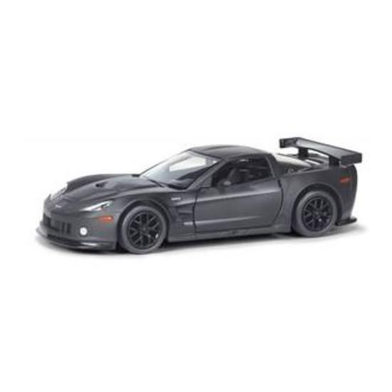 Rmz City Die Cast 1:32 Chevrolet Corvette C6-R Matte Black Edition