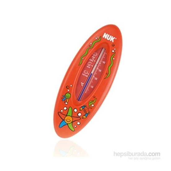 Nuk Ocean Banyo Termometresi / Kırmızı
