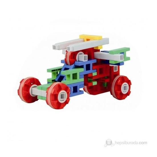 QL 200 Parça Figürlü Tekerlekli Zeka Oyunu+Plastik Kutulu