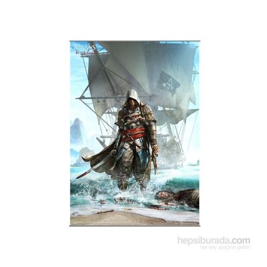 Assassin's Creed Iv Black Flag Wall Scroll Vol. 1 Rulo Duvar Afişi