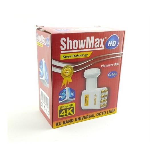 Showmax Ultra Hd 4K Octo Lnb 0,1Db