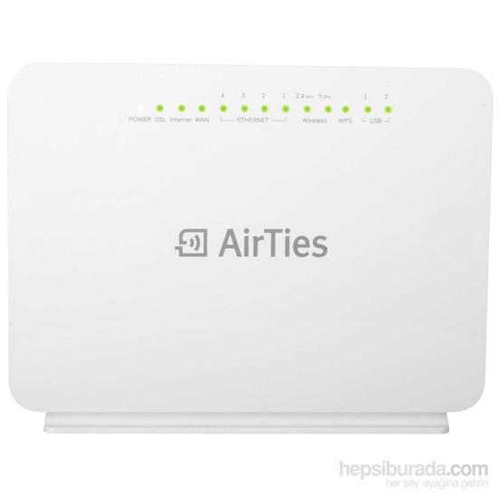 Airties Air 5760 4 port 1600 Mbps ADSL2+/VDSL Fiber Destekli Kablosuz Modem Router