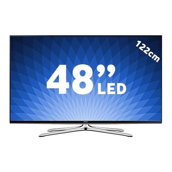 """Samsung 48H6270 48"""" 121 Ekran Full HD Uydu Alıcılı 3D Smart 4 Çekirdekli LED TV + 2 Adet Gözlük"""
