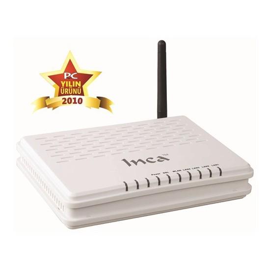 Inca IM-201W 1 Port Ethernet+Usb ADSL2/2+ Kablosuz Modem