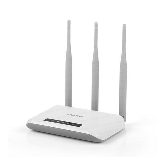 Dark RangeMAX WRT303 802.11n WiFi 300Mbit 3x5dBi Antenli Kablosuz Router / Access Point / Repeater (DK-NT-WRT303)