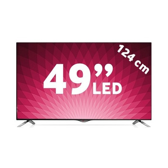 "LG 49UB830V 49"" 124 Ekran [4K] Uydu Alıcılı 900 Hz.3D Smart[WebOS] Led Tv"