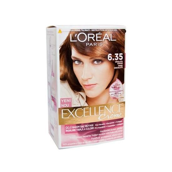 L'Oréal Paris Excellence Boya 6.35 Çikolata Kahve