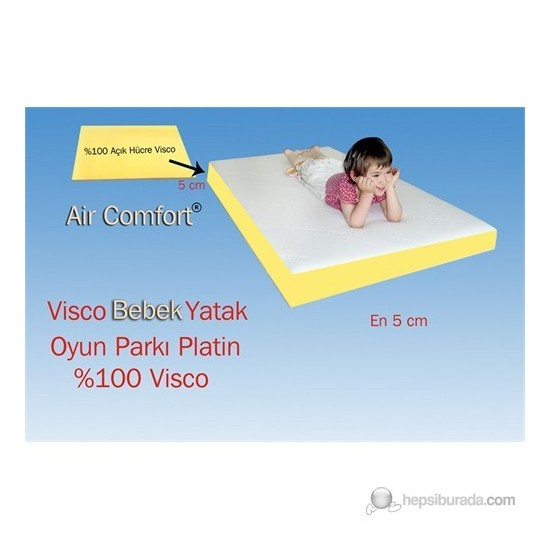 Air Comfort Visco Platin Oyun Parkı Yatak (50)