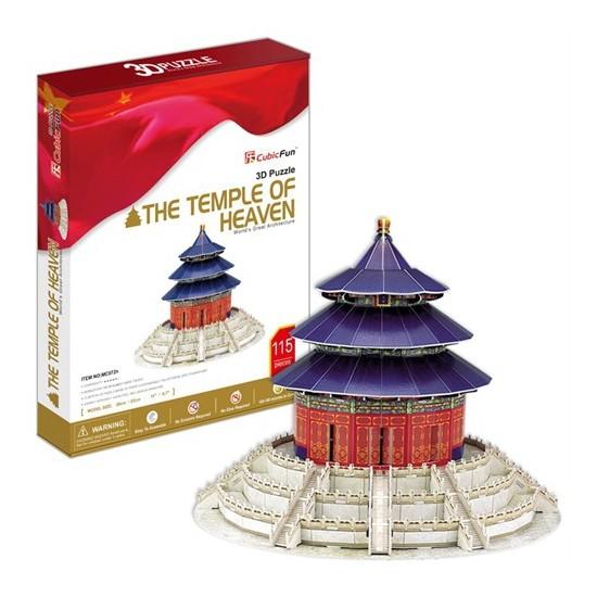 Cubic Fun Puzzle The Temple Of Heaven (3 Boyutlu)