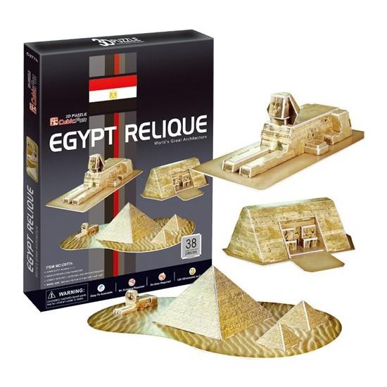Cubic Fun Puzzle Egypt Relique (3 Boyutlu)