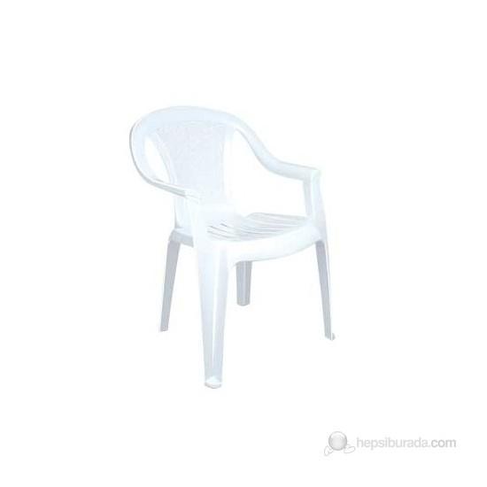 Akyüz Kemer Koltuk Beyaz Plastik