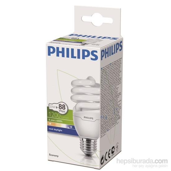 Philips EconomyTwister 20W Beyaz Işık Normal Duy