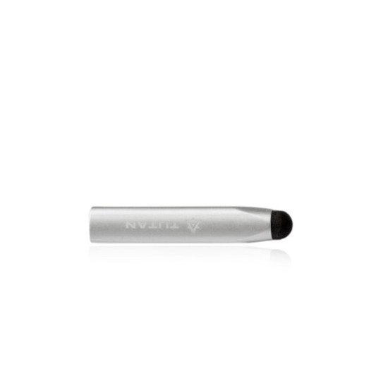 Maclove Aluminyum Tijpen iPhone, iPod touch, iPad Stylus Kalem (Gümüş)
