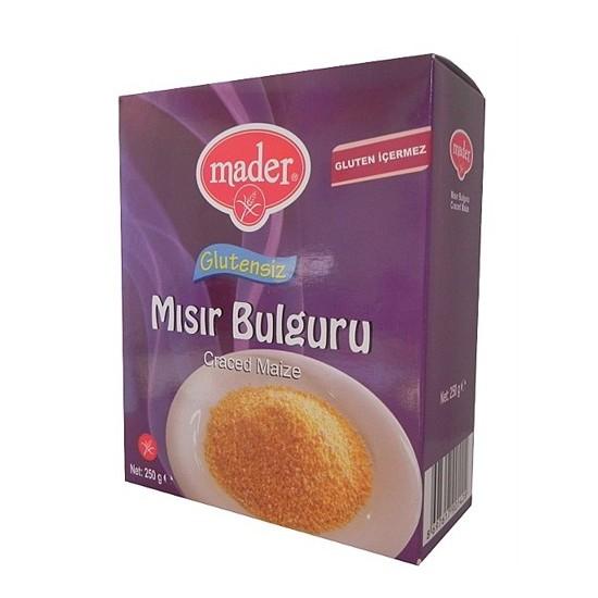 Mader Glutensiz Mısır Bulguru 250 gr
