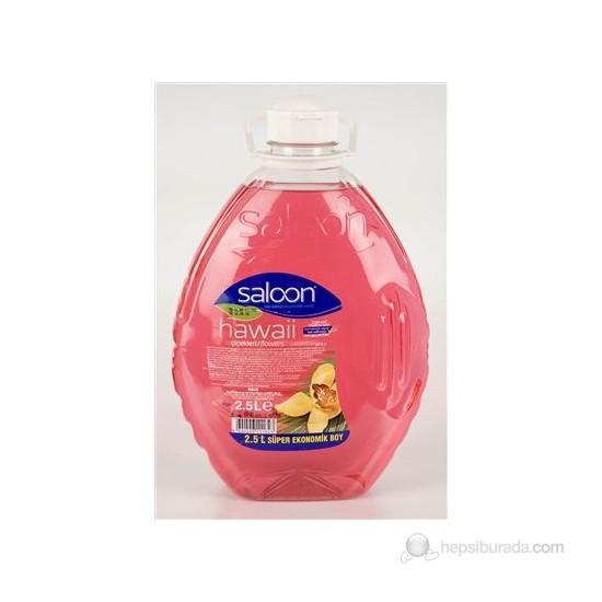 Saloon Sıvı Sabun 2.5 Kg.Hawai Çiçekleri