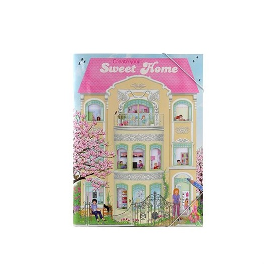 Top Model Sweet Home Boyama Kitabi Dk06662 Fiyati