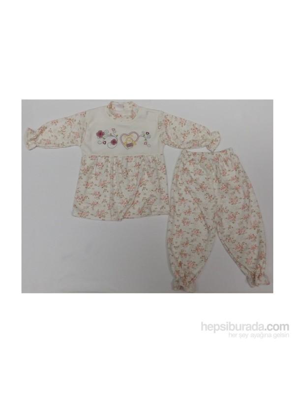 Kardelya Bebe Takım 3240 Çiçekli P.Pembe 6 Ay