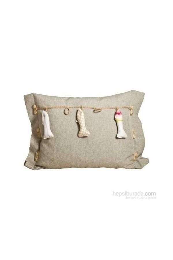 Yastıkmind Fishnet Decorative Cushion