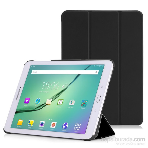 79a87590b2a0a Microsonic Samsung Galaxy Tab S2 9.7'' Smart Case Ve Arka Kılıf Siyah Ürün  Resmi