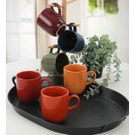 Keramika Rainbow Ekinoks Kupa 10 cm 6 Adet - 113/609