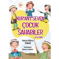 Kur'an'ı Seven Çocuk Sahabiler 5'li Set - Hatice Kübra Tongar